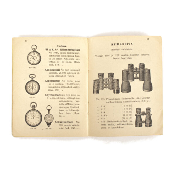 Finnish Army Compass M/34 Manual