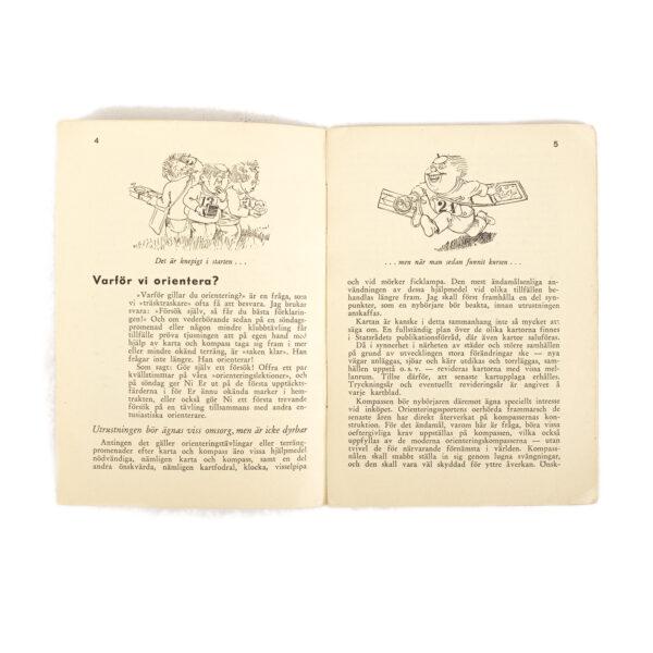 Orienteering Manual, Swedish