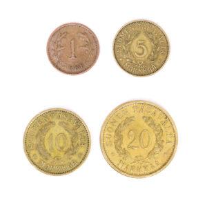Finnish Markka coins