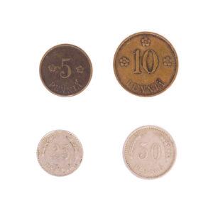 Finnish Penni coins