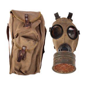 M/38 Gas Mask With Bag & Filter #2