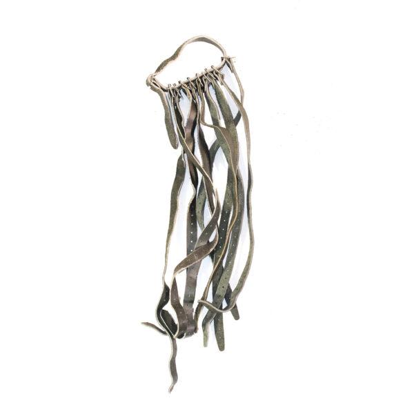 Finnish leather equipment strap