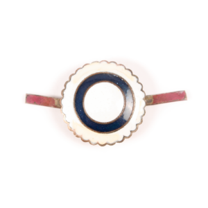 Finnish enameled NCO cockade #14