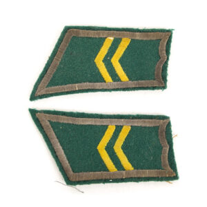 M/36-39 Collar Tabs, Infantry Corporal