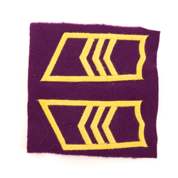 M/36-39 Collar Tabs, Signal Troops Sergeant