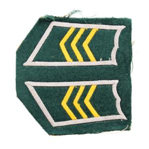M/36-39 Collar Tabs, Infantry Sergeant #7