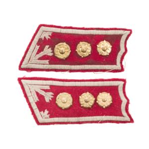 M/36-39 Collar Tabs, General Staff Captain