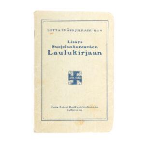 Lotta Svärd Songbook Amendment, 1932