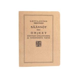 Lotta Svärd Regulations Book, 1934 #6
