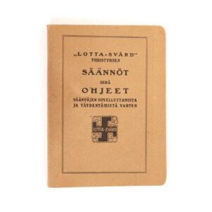 Lotta Svärd Regulations Book, 1926 #7