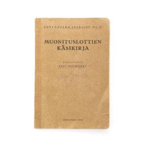 Lotta Svärd Catering Branch Regulations Book, 1928