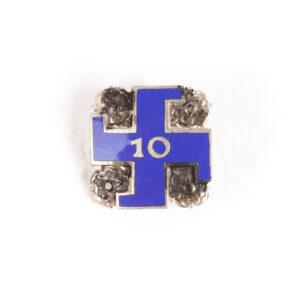 Lotta Svärd 10-year Badge #4