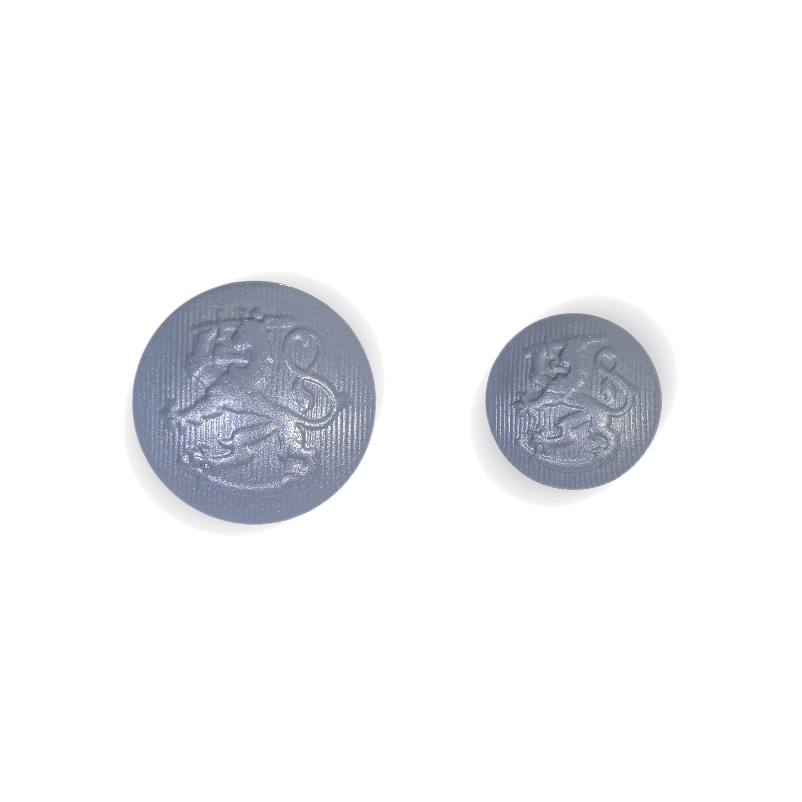 5 high quality silver coat of arms metal buttons of 20 mm buttons coat of arms buttons