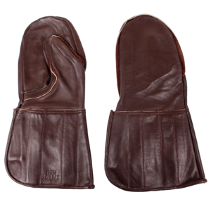 Army Leather Mittens