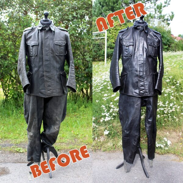 Repaired and reconditioned uniforms for Armour Museum. One of many.