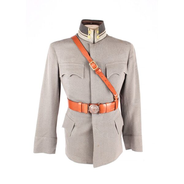 m/22 Officer Belt, custom made for a client.