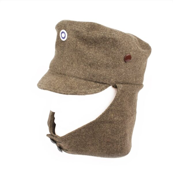 A m/34 Experimental Field Hat with liner attachment buttons.